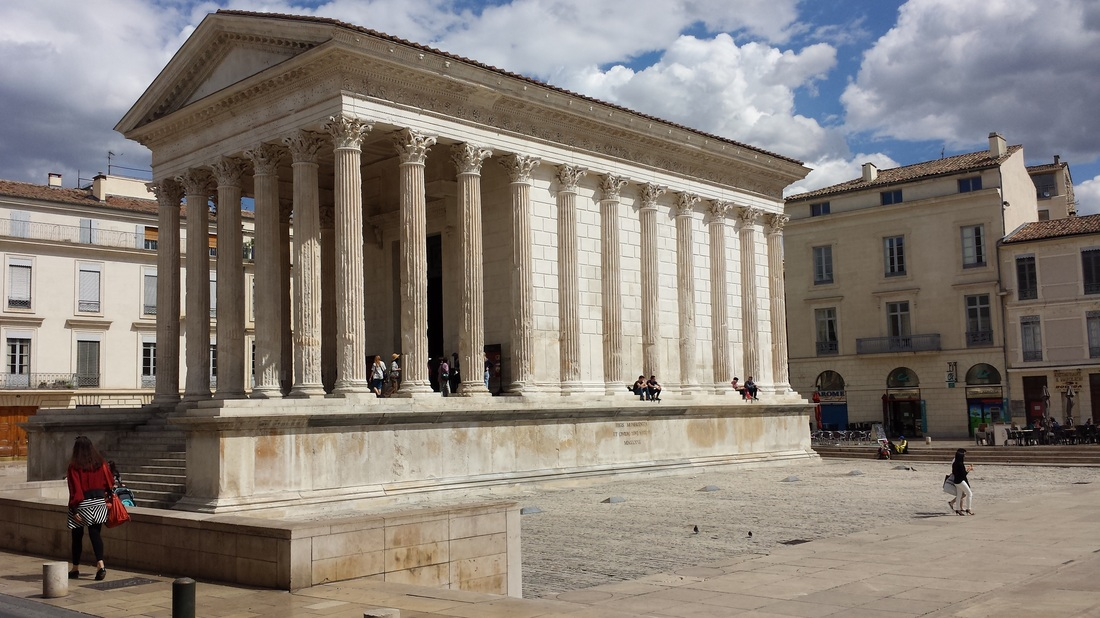 french roman architecture